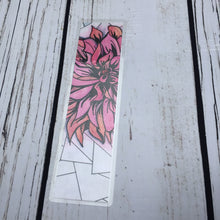 Load image into Gallery viewer, Chrysanthemum, 2-Sided Bookmark - Flower Inspired Watercolor Painting - Art Print