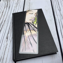 Load image into Gallery viewer, Caged, 2-Sided Bookmark - Mental Health Inspired Watercolor Painting Art Print