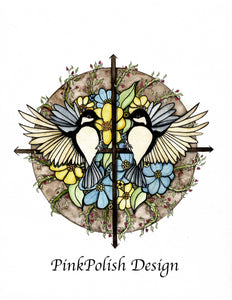 Finding Direction - Woodland Creature Bird Inspired Watercolor Painting - Art Print