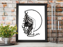 Load image into Gallery viewer, Rapunzel - Fairy Tale Illustration - Art Print