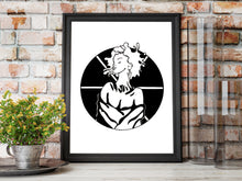 Load image into Gallery viewer, Asterisk - Inspired by Strong Women Illustration - Art Print