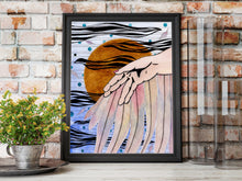 Load image into Gallery viewer, Icarus - Greek Mythology Inspired Watercolor Painting - Art Print