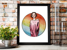 Load image into Gallery viewer, Towering - Fantasy Inspired Watercolor Painting - Art Print