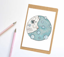 Load image into Gallery viewer, Curiosity, Cat Inspired Notebook / Sketchbook / Journal