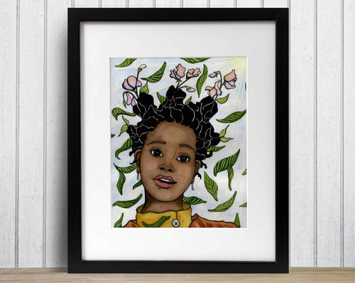 Rampant Growth - Personal Growth Inspired Watercolor Painting - Art Print