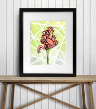 Load image into Gallery viewer, Wilted - Floral Inspired Watercolor Painting - Art Print