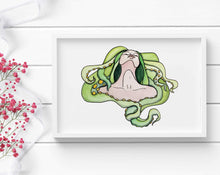 Load image into Gallery viewer, Enfolded - Fantasy  Inspired Watercolor - Art Print