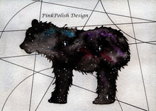 Load image into Gallery viewer, Ursa Minor - Constellation Inspired Watercolor - Art Print