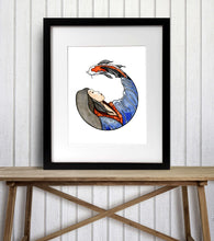 Load image into Gallery viewer, Koi Spirit - Fantasy Inspired Watercolor Painting - Art Print