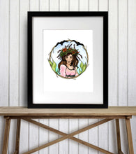 Load image into Gallery viewer, Feeling Eggcelent - Fantasy Inspired Watercolor Painting - Art Print