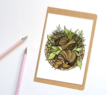 Load image into Gallery viewer, Snail Garden, PNW Inspired Notebook / Sketchbook / Journal