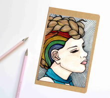 Load image into Gallery viewer, Ms Promise, Strong Woman Inspired Notebook / Sketchbook / Journal