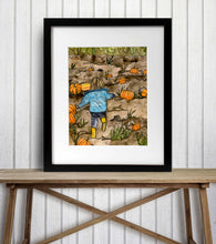Load image into Gallery viewer, Pumpkin Patch - Fall Inspired Watercolor Painting - Art Print