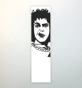 Dr. Frank-N-Furter, 2-Sided Bookmark - Classic Horror Inspired Ink Drawing Art Print