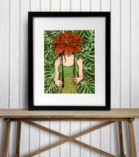Load image into Gallery viewer, Bonnet - Fairy Inspired Watercolor Painting - Art Print