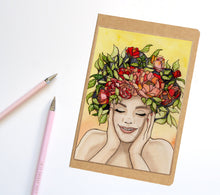 Load image into Gallery viewer, Giddy, Springtime Inspired Notebook / Sketchbook / Journal