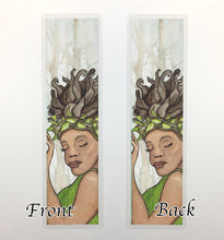Load image into Gallery viewer, Forest Nymph, 2-Sided Bookmark - Magic Inspired Watercolor Painting Art Print