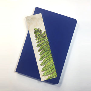 Fern, 2-Sided Bookmark - PNW Inspired Watercolor Painting Art Print