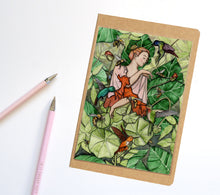 Load image into Gallery viewer, Bloom, Fairy Inspired Notebook / Sketchbook / Journal