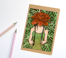 Load image into Gallery viewer, Bonnet, Fairy Inspired Notebook / Sketchbook / Journal