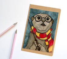 Load image into Gallery viewer, Harry Otter, Wizard Inspired Notebook / Sketchbook / Journal