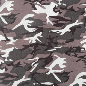 HUOBAO Camouflage Bandanas For Men Square Scarf Headband Camping Mask Hiking Wrist Wrap Band For Women/Mens