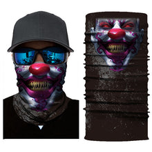 Load image into Gallery viewer, V for Vendetta Anime Skull Venom Fishing Mask Hiking Ski Headwear Seamless Bandanas Headband Windproof Sport Scarf Neck Gaiter