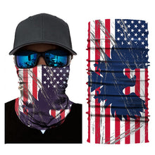 Load image into Gallery viewer, USA National Flag Seamless Sport Scarf Color Bicycle Fishing Motorcycle Ski Headwear Canadian Flag Neck Bandanas Hiking Mask