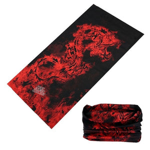 Magic Scarf Outdoor Scarves for Men COOL Seamless Headband Tuban Bicycle Sport Bandana Thin Skull Clown Hand Band CS Headwear