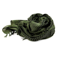 Load image into Gallery viewer, Army Military Tactical Arab Scarf Shawl Thicken Neck Cover for Men Women Desert Windproof Bandanas Neck Wraps Warmers Scarves