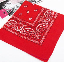 Load image into Gallery viewer, New Unisex Fashion Vintage Style Men Women Paisley Bandana Cotton Head Wrap Neck Scarf Wristband Handkerchief Pocket Towel