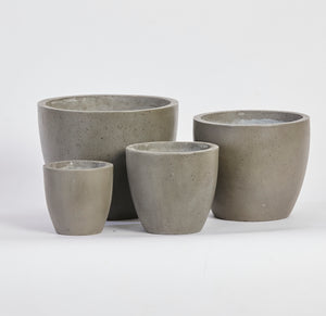 Turin Concrete Planter - Set of 4