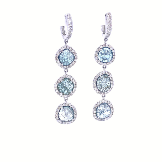 Petit Karen Bleu Earrings