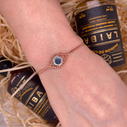 Tichi 'Evil Eye'  - Rose Gold Bracelet