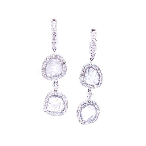 Karen Deux Blanc Earrings