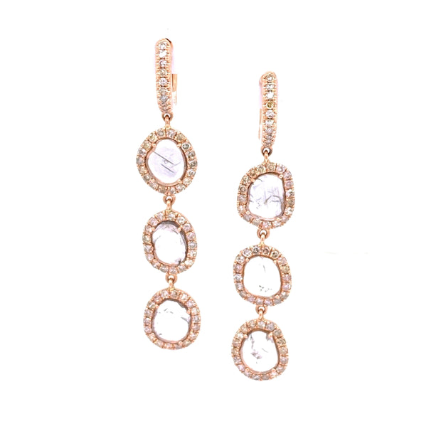 Karen Rose Earrings