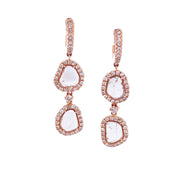Karen Deux Rose Earrings