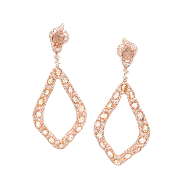 Fierce Kayla Rose Earrings