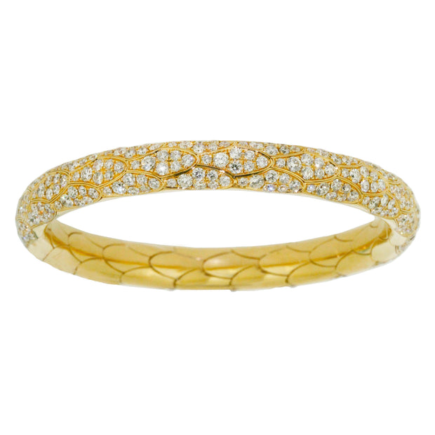 Seria Yellow Gold Bangle