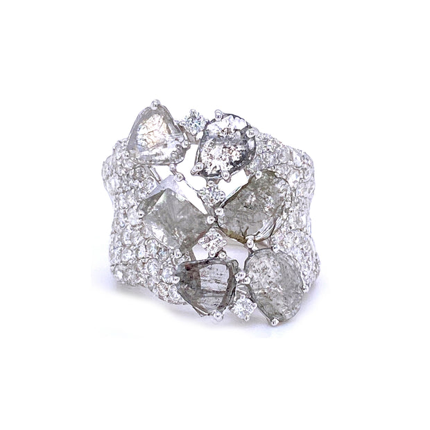 Majesty Crazy Horse Blanc Ring