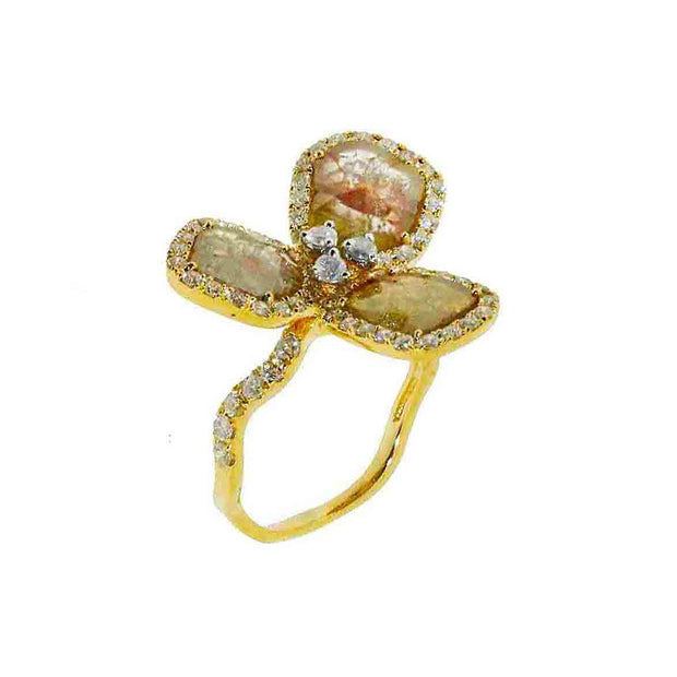 Triaana Rose Ring