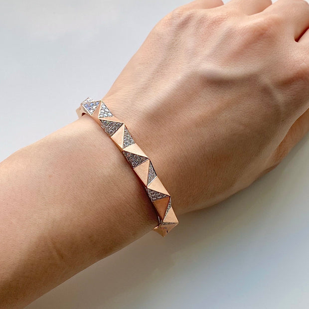 Nile Rose Bangle