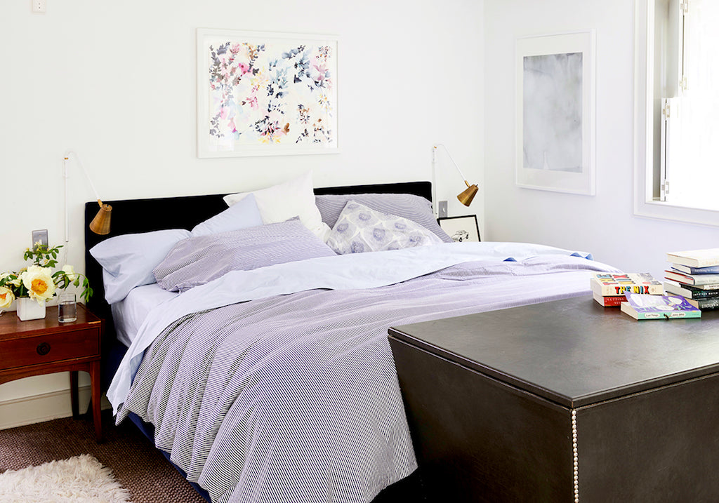 Joanna Goddard home tour bedroom