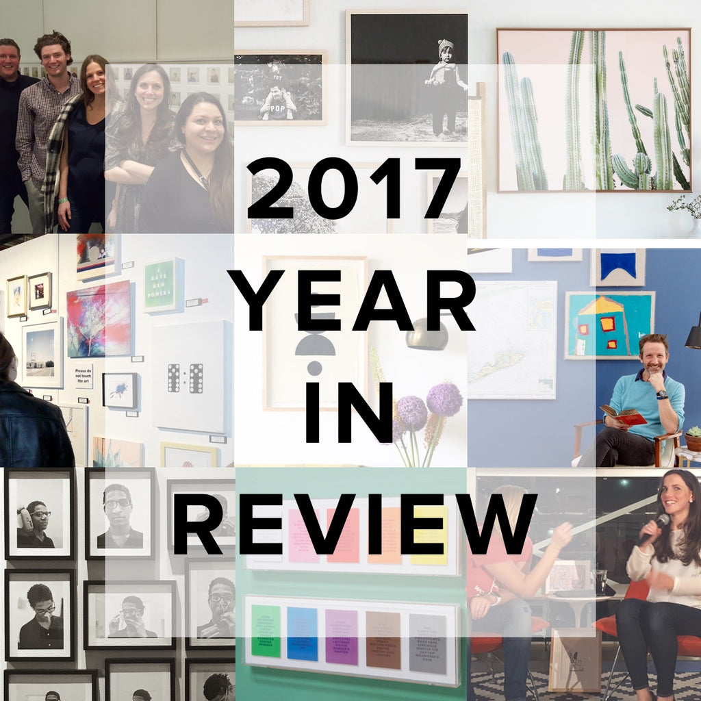 simply framed year in review