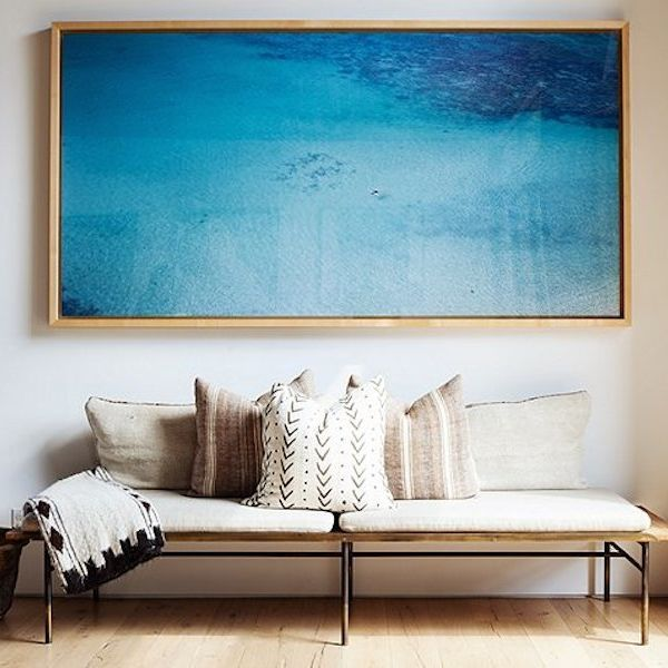 Richard Misrach photography at the home of Jenny Kayne via Simply Framed