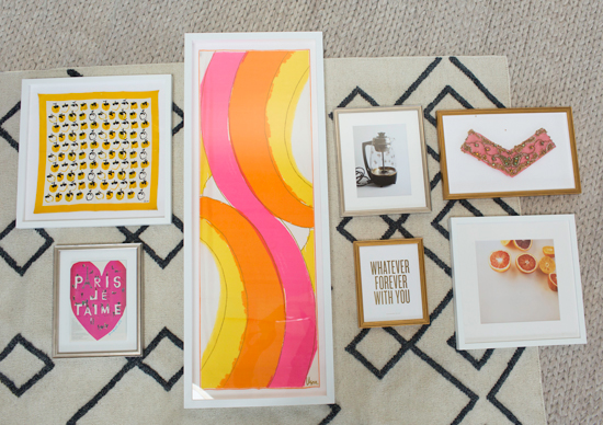 Simply Framed x Oh Joy: Designing the best gallery wall layout