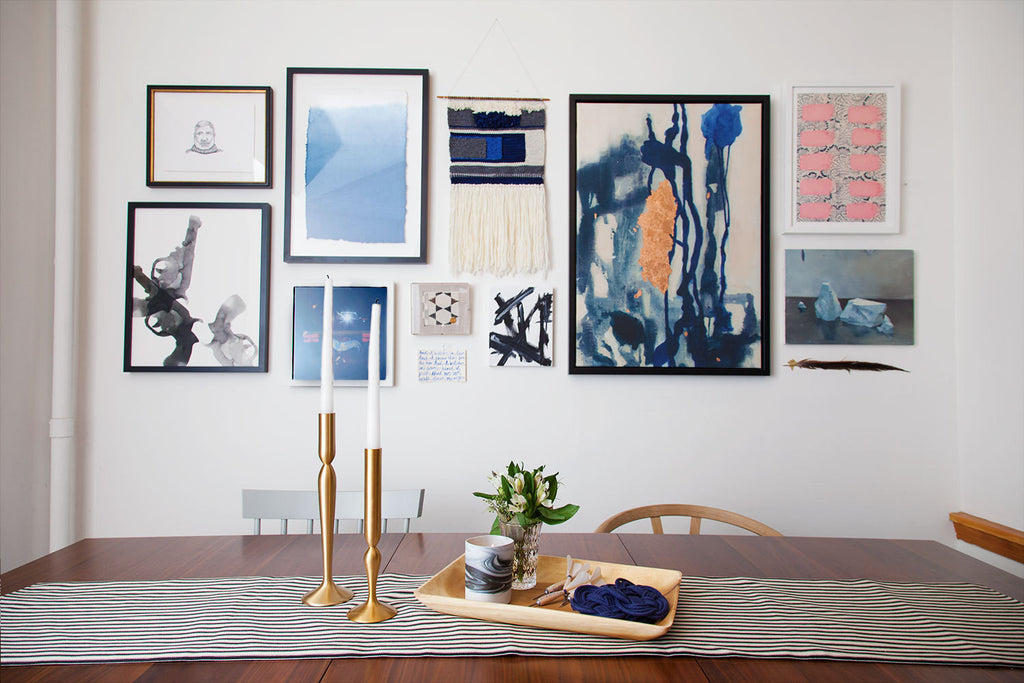 Simply Framed Gallery Wall in collaboration with Lonny
