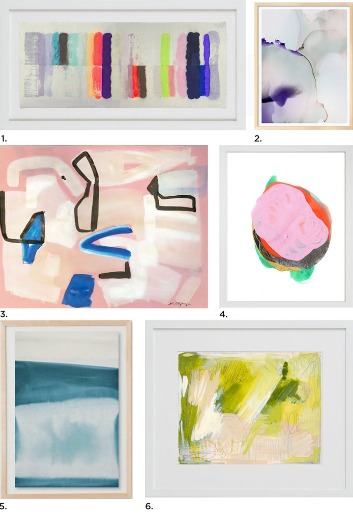 Abstract Art Gift Guide for Mother's Day, by Simply Framed