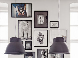Gallery Walls: Monochromatic Addict