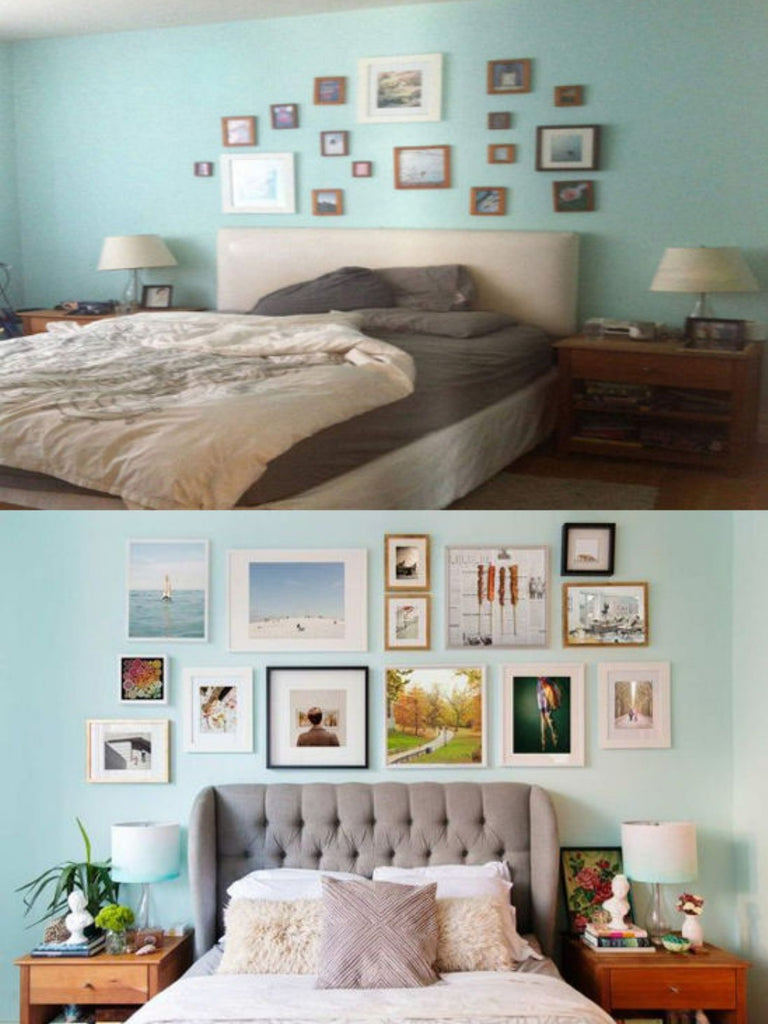 DIY Bedroom Before and After